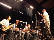 The DKO Jazz Sextet was in Steamboat this week to teach a clinic to Steamboat Springs High School students.
