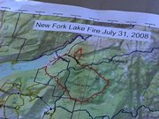 The New Fork Lakes Fire was started July 29 by a campfire that was left unattended and escaped its fire ring.