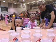 Leadership students at Steamboat Springs High School hosted the annual Kids' Carnival on Wednesday.