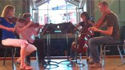 The Meridian Quartet will perform Wednesday from 12:15 p.m. to 1 p.m. during a free concert at Yampa River Botanic Park.