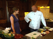 "The Steamboat Pilot & Today's Margaret Hair gets a cooking lesson from Season 5 ""Top Chef"" winner Hosea Rosenberg."