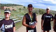 Will Laughlin finished his 200-mile Wild West Relay on Saturday in Steamboat.