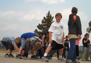 The 2009-01 school year began Monday for North Routt students, but at least some of the focus is toward next year and a new school building.