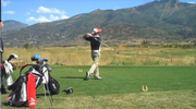 The Steamboat Springs High School golf team hosted its tournament on Wednesday at Haymaker Golf Course