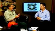 U.S. Forest Service recreational specialist Kent Foster talks with Andy Rossbach about building more biking trails.