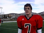 Steamboat Springs High School quarterback Austin Hinder talks about Saturday's playoff game victory over Windsor.