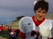 Steamboat Springs High School football quarterback Austin Hinder talks about Saturday's win.