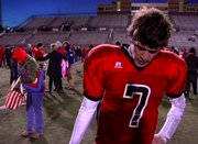 Interview with Austin Hinder after Saturday's championship game loss to Valor Christian.