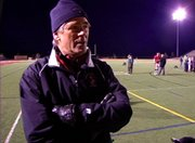Interview with Steamboat Springs High School football coach Aaron Finch after Saturday&#39;s loss to Valor Christian in the state championship game.