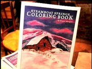 Meagan Morgan talks about her great new Steamboat Springs Coloring Book.  Pick one up at Epilogue Book Co.