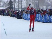Johnny Spillane won the Nordic combined event Wednesday during the 2010 U.S. Olympic Trials in Steamboat Springs.