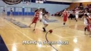 MCHS Girls varsity basketball against Steamboat